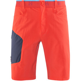 Millet Trilogy Cordura Miehet Lyhyet housut , punainen/sininen